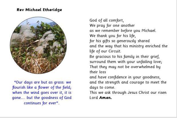Prayer for Michael